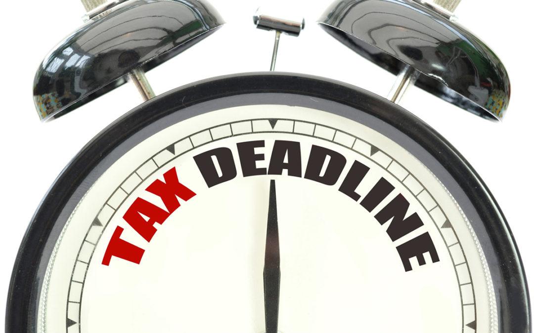 2017 Q2 Tax Calendar